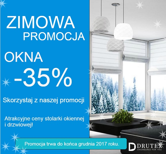 drutex zimowa promocja kraków