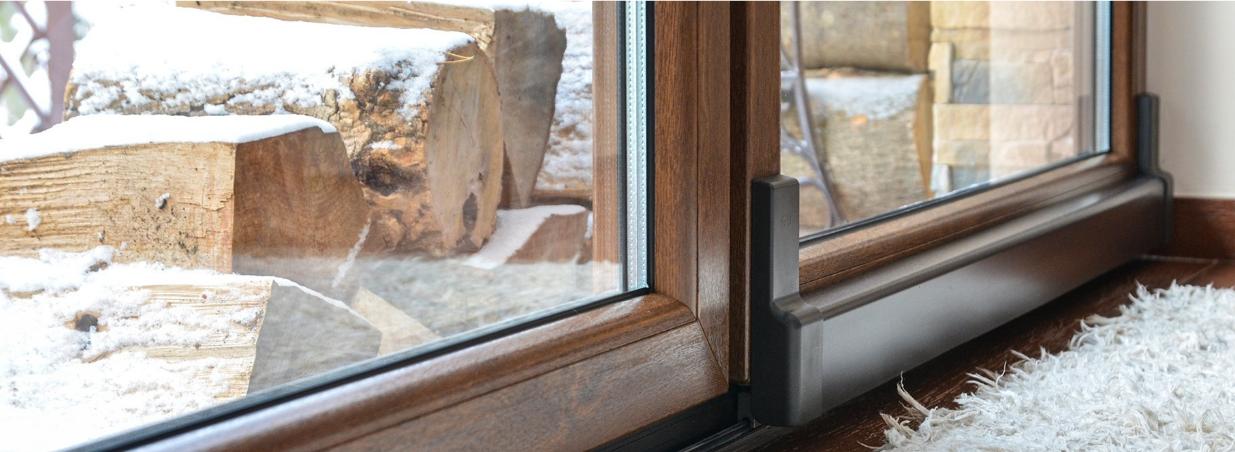 okna drutex zima
